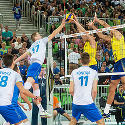 20150909: SLO, Volleyball - Friendly game, Slovenia vs Brasil