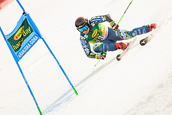 March 9, 2019 - Kranjska Gora, Kranjska Gora, Slovenia - Willis Feasey of New Zeland in action during Audi FIS Ski World Cup Vitranc on March 8, 2019 in Kranjska Gora, Slovenia. (Credit Image: © Rok Rakun/Pacific Press via ZUMA Wire)