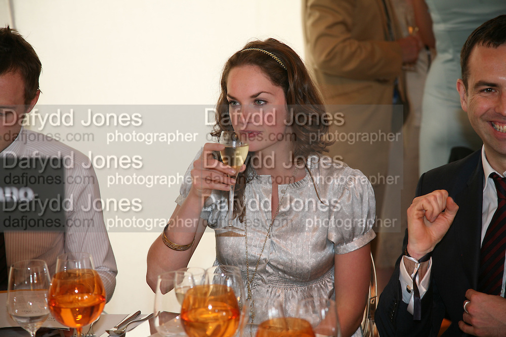 Ruth Wilson, The Veuve Clicquot Gold Cup 2007. Cowdray Park, Midhurst. 22 July 2007.  -DO NOT ARCHIVE-© Copyright Photograph by Dafydd Jones. 248 Clapham Rd. London SW9 0PZ. Tel 0207 820 0771. www.dafjones.com.