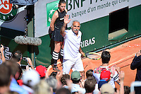 Mansour BAHRAMI - 23.05.2015 - Tennis - Journee des enfants - Roland Garros 2015<br /> Photo : David Winter / Icon Sport