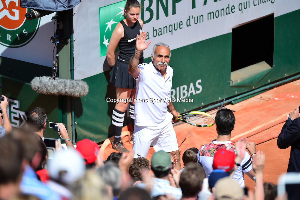 Mansour BAHRAMI - 23.05.2015 - Tennis - Journee des enfants - Roland Garros 2015<br /> Photo : David Winter / Icon Sport