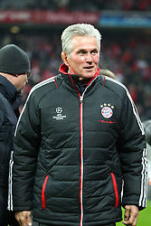 22.11.2011, Allianz Arena, Muenchen, UEFA CL, Gruppe A, GER, FC Bayern Muenchen (GER) vs FC Villarreal (ESP), im Bild  Jupp Heynckes (Trainer Bayern) //during the football match of UEFA Champions league, group a, between  FC Bayern Muenchen (GER)  vs.  FC Villarreal  (ESP) Gruppe A, on 2011/11/22 at Allianz Arena, Munich, Germany. EXPA Pictures © 2011, PhotoCredit: EXPA/ nph/ Straubmeier..***** ATTENTION - OUT OF GER, CRO *****