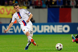 22.10.2013, Ghencea Stadion, Bukarest, ROU, UEFA CL, Steaua Bukarest vs FC Basel, im Bild Fabian Frei (Basel) // during the UEFA Champions League group E match between Steaua Bukarest and FC Basel at the Ghencea Stadion in Bukarest, Romania on 2013/10/22. EXPA Pictures &copy; 2013, PhotoCredit: EXPA/ Freshfocus/ Andy Mueller<br /> <br /> *****ATTENTION - for AUT, SLO, CRO, SRB, BIH, MAZ only*****