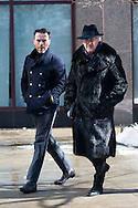 Double Breasted Coats, Outside Hugo Boss FW2015