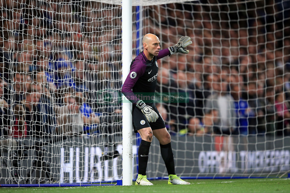 5 April 2017 - Premier League - Chelsea v Manchester City - Willy Caballero of Manchester City - Photo: Marc Atkins / Offside.