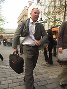 A51PAE Street perfomer Covent Garden London England