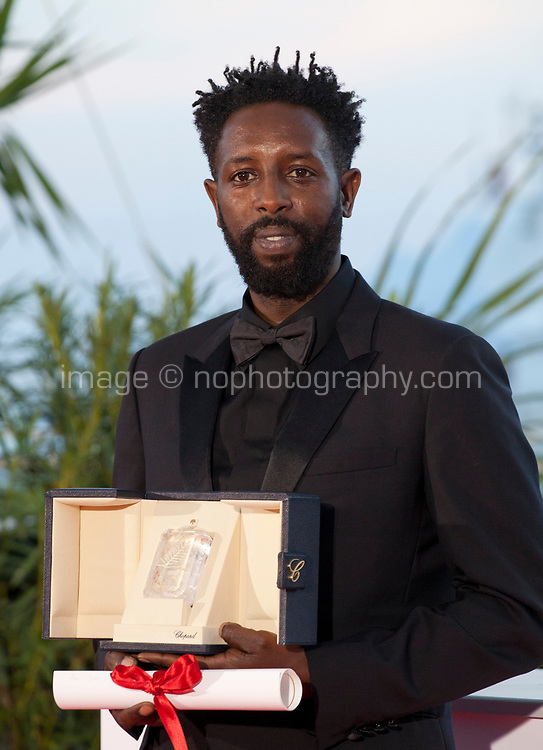 Director Ladj Ly, winner of the Jury Prize award for the film Les Miserables at the Palme D'Or Award photo call at the 72nd Cannes Film Festival, Saturday 25th May 2019, Cannes, France. Photo credit: Doreen Kennedy