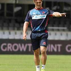 Michael Hooper (captain) of the NSW Waratahs during the NSW Waratahs Cap Run at  Growthpoint Kings Park Durban , South Africa. March 9th 2017(Photo by Steve Haag)<br /> <br /> images for social media must have consent from Steve Haag