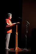 Arlene Sheet speaks at the 50th Anniversary of the March on Washington at Templeton -Blackburn Alumni Memorial Auditorium on August 28, 2013.