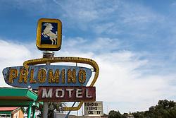 The Palomino Motel in Tucumcari, New Mexico on Route 66