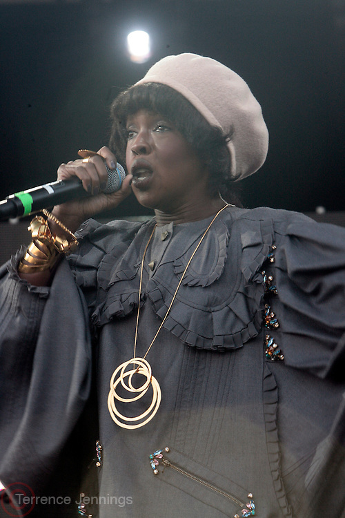 28 August 2010-New York, NY- Ms. Lauryn Hill performs at the 7th Annual Rock The Bells International Festival Series Presented by Guerilla Union on August 28 held on Governors Island in New York City.