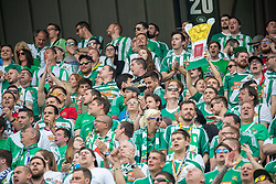01.05.2019, Woerthersee Stadion, Klagenfurt, AUT, OeFB Uniqa Cup, FC Red Bull Salzburg vs SK Rapid Wien, Finale, im Bild Fans // during the Final match of the ÖFB Uniqa Cup between FC Red Bull Salzburg and SK Rapid Wien at the Woerthersee Stadion in Klagenfurt, Austria on 2019/05/01. EXPA Pictures © 2019, PhotoCredit: EXPA/ Dominik Angerer