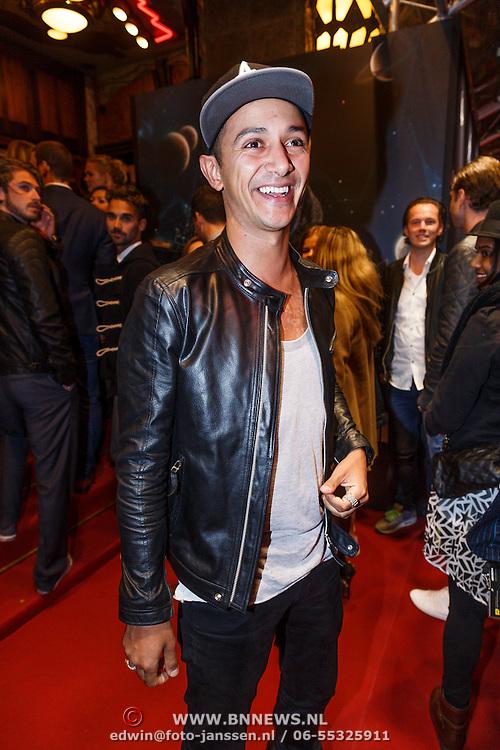 NLD/Amsterdam/20131017 - Premiere I Am Hardwell, DJ Apster, Abdesamad Ben Abdelouahid