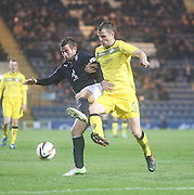 Peter MacDonald and Andy Dowie- Dundee  v Queen of the South - SPFL Championship at Dens Park<br /> <br />  - &copy; David Young - www.davidyoungphoto.co.uk - email: davidyoungphoto@gmail.com