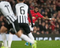 Fred of Manchester United takes a free kick - Mandatory by-line: Jack Phillips/JMP - 07/11/2019 - FOOTBALL - Old Trafford - Manchester, England - Manchester United v Partizan - UEFA Europa League