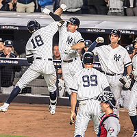 New York Yankees v Houston Astros || 2017 American League Wild Card Game || Bronx, NY