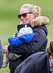APR 19 2014 Zara Phillips returns to competition