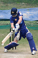 Aaron Redmond of Otago Volts during the Otago Volts Training Session training session prior to the start of the Karbonn Smart CLT20 2013 held at the PCA Stadium in Mohali on the 16th September 2013<br /> <br /> Photo by Shaun Roy-CLT20-SPORTZPICS <br /> <br /> Use of this image is subject to the terms and conditions as outlined by the BCCI. These terms can be found by following this link:<br /> <br /> http://www.sportzpics.co.za/image/I0000SoRagM2cIEc