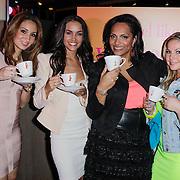 NLD/Rotterdam/20120516 - Verjaardag en boekpresentatie Magali Gorre, bouchra van Persie, Dasiy Drenthe, Magali Gorre en ????.