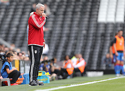 Fulham Manager, Kit Symons - Mandatory by-line: Paul Terry/JMP - 07966386802 - 01/08/2015 - SPORT - FOOTBALL - Fulham,England - Craven Cottage - Fulham v Crystal Palace - Pre-Season Friendly