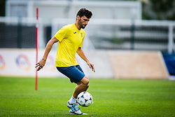 Mario Lucas Horvat of NK Domzale during practice session before football match between NK Domzale and FC Lusitanos Andorra in second leg of UEFA Europa league qualifications on July 6, 2016 in Andorra la Vella, Andorra. Photo by Ziga Zupan / Sportida