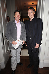 Left to right, DANNY MOYNIHAN and WILLIAM ORBIT at 'Amnestea' a tea party hosted my Amnesty International held at The Langham Hotel, Portland Place, London on 25th May 2010.