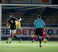 Dylan Bikey scores Hearts' winner - Dundee v Hearts in the SPFL Development League at Links Park in  Montrose : Image &copy; David Young<br /> <br />  - &copy; David Young - www.davidyoungphoto.co.uk - email: davidyoungphoto@gmail.com