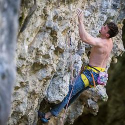20180424: SLO, Climbing - Portrait of Jernej Kruder