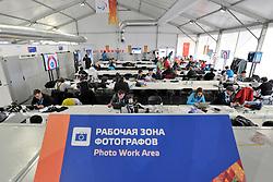 Media Centre, Alpine Skiing Centre at the 2014 Sochi Winter Paralympic Games, Russia