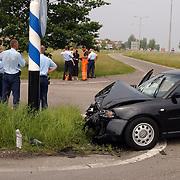 Ongeval IJsselmeerstraat - oprit A6 Muiderberg