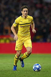 November 6, 2018 - Madrid, Spain - Thomas Delaney of Borussia Dortmund during the Group A match of the UEFA Champions League between Atletico de Madrid and Borussia Dortmund at Wanda Metropolitano Stadium, Madrid on November 06 of 2018. (Credit Image: © Jose Breton/NurPhoto via ZUMA Press)