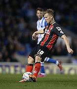 AFC Bournemouth Matt Ritchie during the Sky Bet Championship match between Brighton and Hove Albion and Bournemouth at the American Express Community Stadium, Brighton and Hove, England on 10 April 2015.