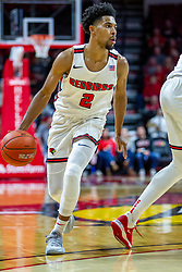 NORMAL, IL - January 07: Zach Copeland during a college basketball game between the ISU Redbirds and the University of Missouri State Bears on January 07 2020 at Redbird Arena in Normal, IL. (Photo by Alan Look)