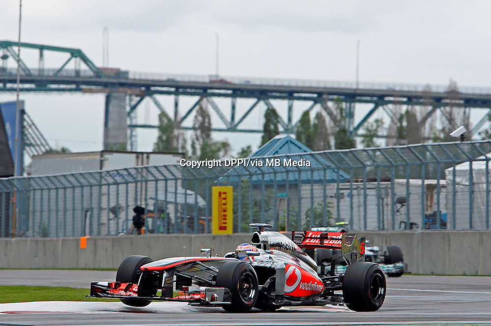 MOTORSPORT - F1 2013 - GRAND PRIX OF CANADA - MONTREAL (CAN) - 07 TO 09/06/2013 - PHOTO ERIC VARGIOLU / DPPI BUTTON JENSON (GBR) - MCLAREN MERCEDES MP4-28 - ACTION