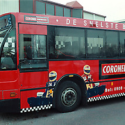 Coronel jarting reclame Conexxion bus