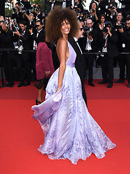 Tina Kunakey Di Vita attending the premiere of The Biguiled held at The Grand Theatre during the 70th Cannes Film Festival in France. Photo Credit should read: Doug Peters/EMPICS Entertainment