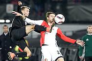 20-10-2016: Voetbal: Feyenoord v Zarja Loegansk: Rotterdam<br /> <br /> (L-R) Michiel Kramer (Feyenoord) during Europa League match between Feyenoord and Zorja Luhansk on 20 oktober 2016 at Stadion Feijenoord (de Kuip), Rotterdam, Zuid-Holland<br /> <br /> Europa League - Season 2016 / 2017<br /> <br /> Photo: Gertjan Kooij