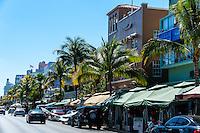 US, Florida, Miami Beach. Ocean Drive.
