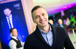 Damir Skomina during Traditional New Year party of of the Slovenian Football Association - NZS, on December 18, 2017 in Kongresni center, Brdo pri Kranju, Slovenia. Photo by Vid Ponikvar / Sportida