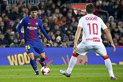 November 29, 2017 - Barcelona, Catalonia, Spain - Carles Alena during the Copa del Rey match between FC Barcelona v Real Murcia CF,i n Barcelona, on November 29, 2017. (Credit Image: © Joan Valls/NurPhoto via ZUMA Press)