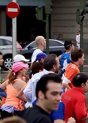 26-04-2015 NED: We Run 2 Change Diabetes NY 2015, Arnhem<br /> We run to change diabetes, training op de halve marathon van Madrid met de groep hardlopers van Novo Nordisk Spanje die op 1 november 2015 hun grenzen gaan verleggen in de marathon van New York / Jeroen