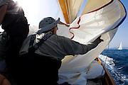 30SEP09 Les Voiles De St Tropez 2009..On board Cambria..