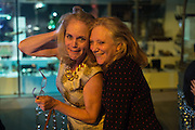 LAUREN CLANCY; ALISON SOLA, Action Against Cancer 'A Voyage of Discovery' fundraising dinner at the Science Museum on Wednesday 14 October 2015.