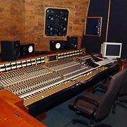 E-Sound Pampuslaan 67 Weesp, geluids, opname studio, regelpaneel, boxen, analoog