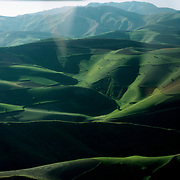 20 May 1976<br /> Very rounded green hills.