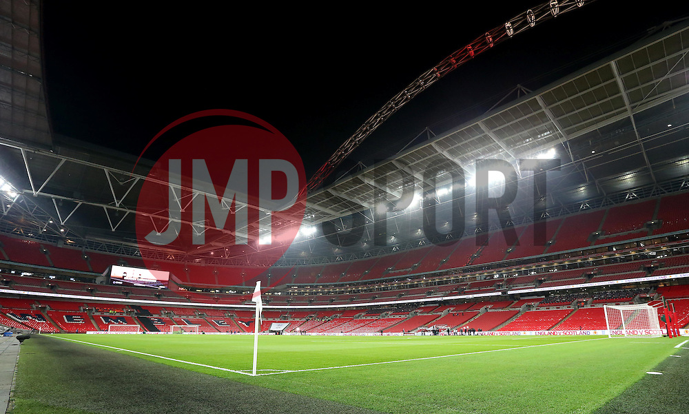 Wembley Stadium ahead of The UEFA European World Cup Qualifier between England and Scotland - Mandatory by-line: Robbie Stephenson/JMP - 11/11/2016 - FOOTBALL - Wembley Stadium - London, United Kingdom - England v Scotland - European World Cup Qualifiers