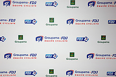 CYCLISME : Presentation Equipe Groupama FDJ - Paris - 31 January 2018