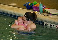 Water Babies/Grandbabies class at the Taylor Home.  Karen Bobotas for the Laconia Daily Sun