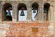 Bell Wall at The Historic Mission San Juan Capistrano California