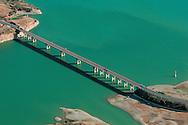 Bridge over the Caspe Sea..